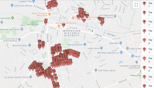 Borough Lists 300 Addresses with Lead Gooseneck Connectors