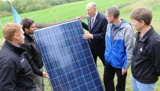 VIDEO: Etown College Breaks Ground on Solar Array