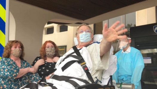 Man Beats COVID after 40 Days in Hospital