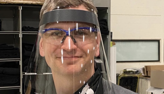 TAIT Creates Face Shields